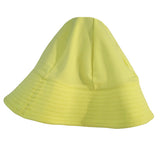 Petit Crabe swim hat in canary