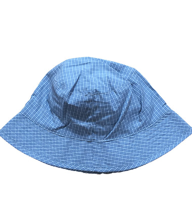 Wheat reversible hat in ashley blue