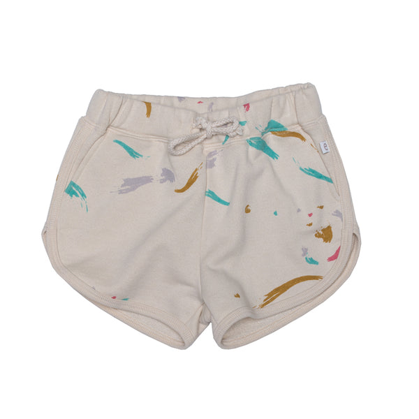 Ebbe shorts Izzy in watercolour print