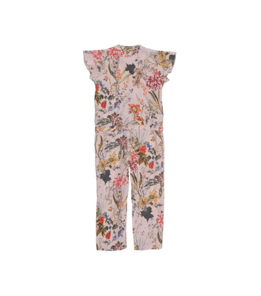 Christina Rohde jumpsuit with pink flowers