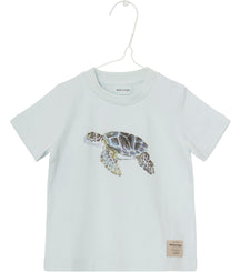 MINI A TURE t-shirt Steffen in light blue