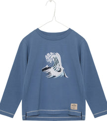 MINI A TURE long sleeve t-shirt Apollo with wave motif