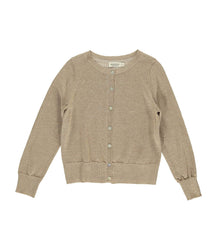 MarMar Copenhagen cardigan Tilda in sparkly burnt gold