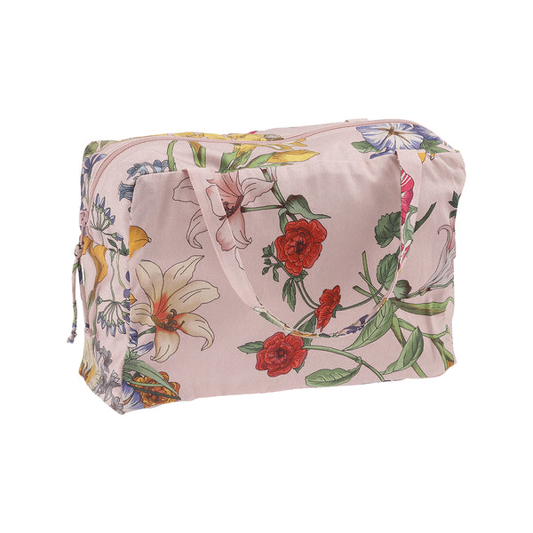 Christina Rohde beauty bag in pink flowers