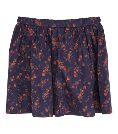Christina Rohde Liberty skirt in navy with flowers