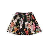 Christina Rohde skirt in black with flowers