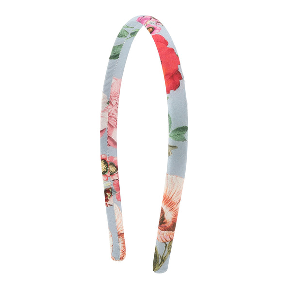 Christina Rohde hairband in light blue flowers