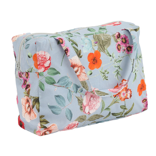 Christina Rohde beauty bag in light blue flowers