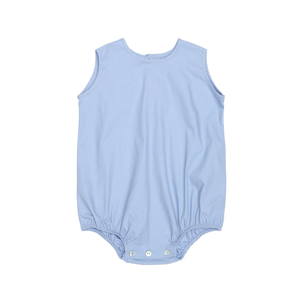 Christina Rohde unisex baby romper in light blue