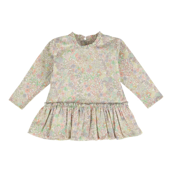 Christina Rohde baby dress in pastel colours in liberty print