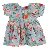Christina Rohde baby dress with light blue flower print