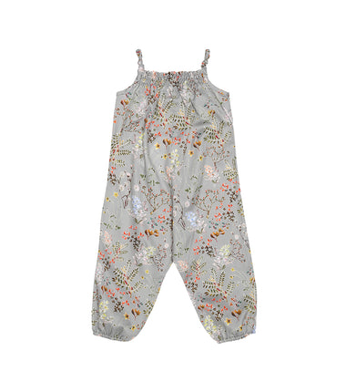 baby romper suit cotton liberty print