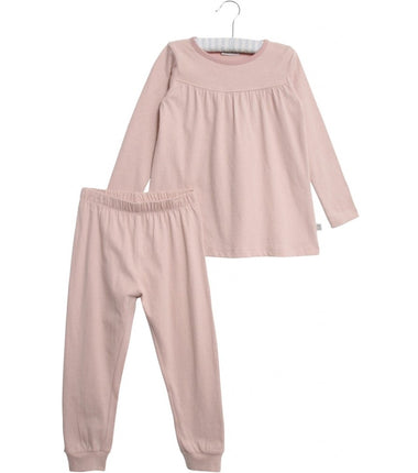Wheat pyjamas Yoke in soft pink