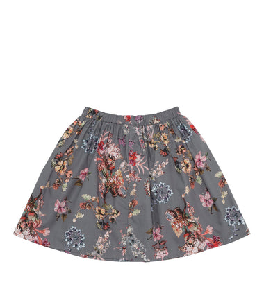 Christina Rohde skirt with grey flower print