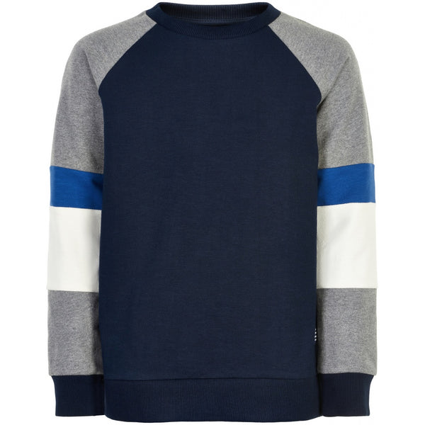 The New sweater Morgan in navy, blue and grey