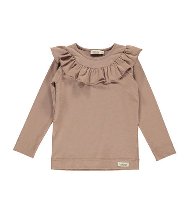 MarMar Copenhagen top Tessie in pink with gold detail