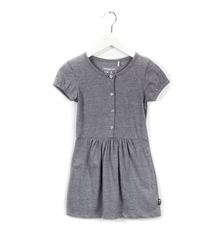 Imps & Elfs summer dress in earl grey stripes