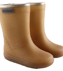 Enfant thermo winter wellies in metallic gold