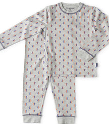 Little Label pyjama arrows in grey