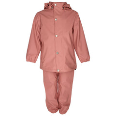Enfant rainwear set Gate in old rose