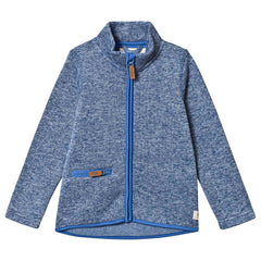 Ebbe knitted fleece Emile in riviera blue