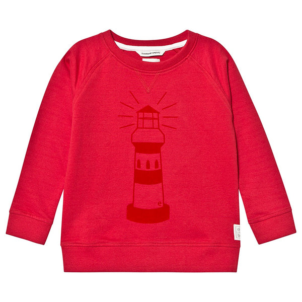 Ebbe sweater Code in red