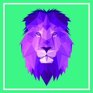 Purple Lion