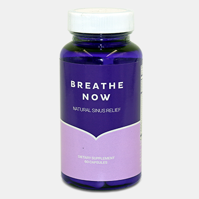 Breathe Now All Natural Sinus Relief Supplement