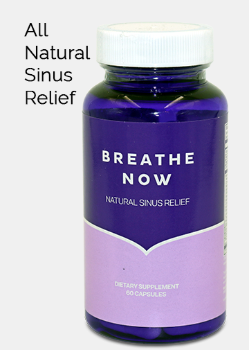 all natural sinus and allergy relief
