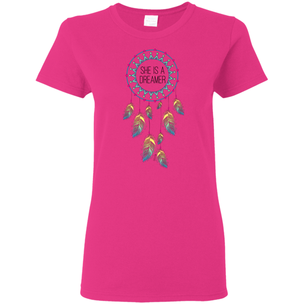 Ladies' T-Shirt - She is a Dreamer