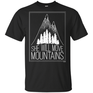 Youth T-Shirt - She Will Move Mountains