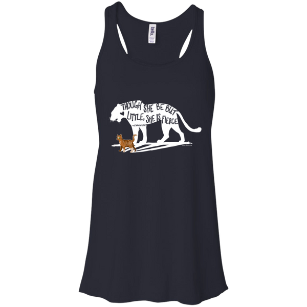 Flowy Racerback Tank - She is Fierce