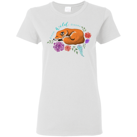 Ladies' T-Shirt - Dream Wild Dreams
