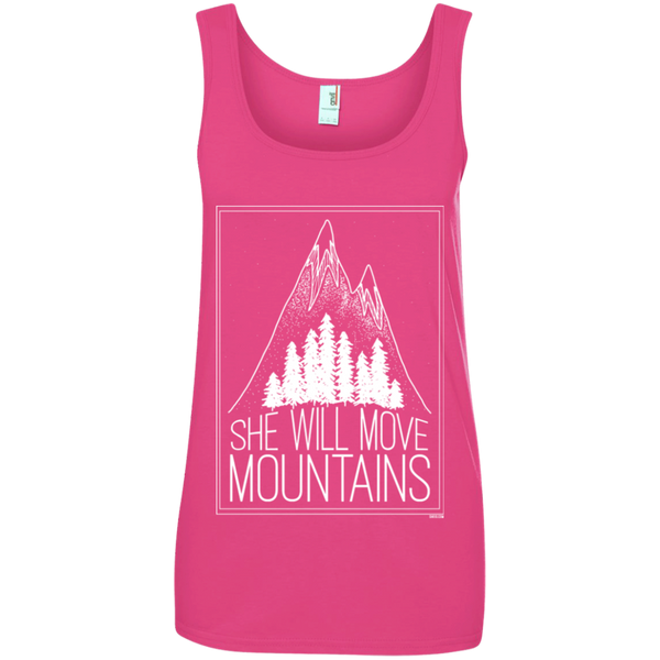 Ladies' Tank Top - She Will Move Mountains