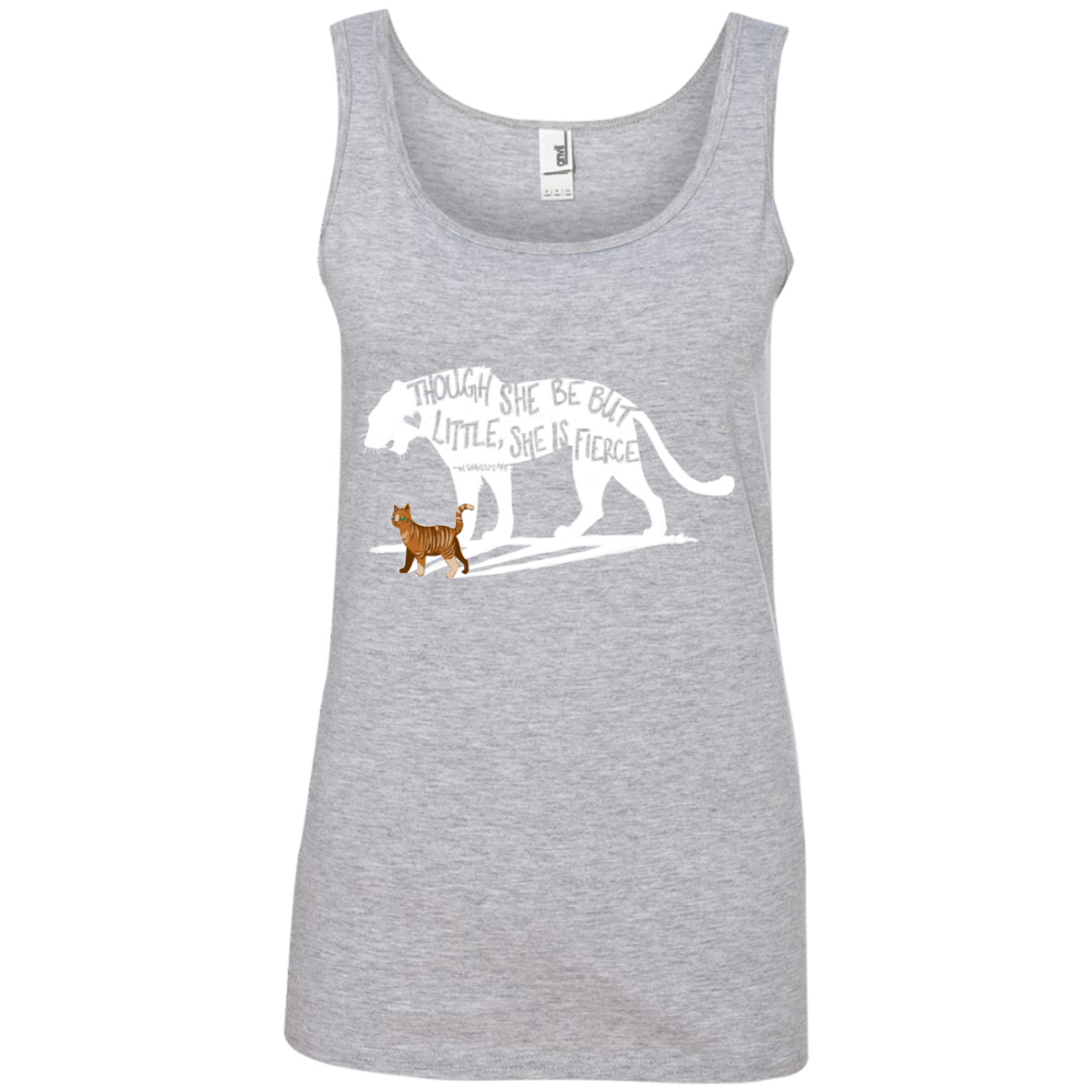 Ladies' Tank Top - She is Fierce