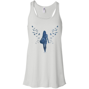 Flowy Racerback Tank - She is Whimsical