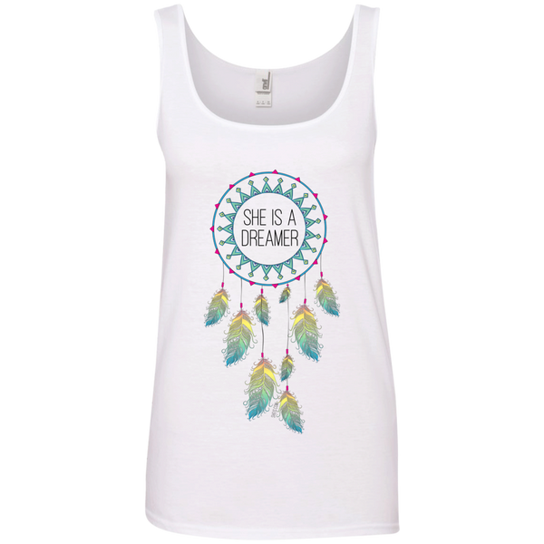 Ladies' Tank Top - She is a Dreamer