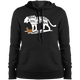 Ladies' Pullover Hooded Sweatshirt - She is Fierce