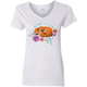 Ladies' V-Neck T-Shirt - Dream Wild Dreams