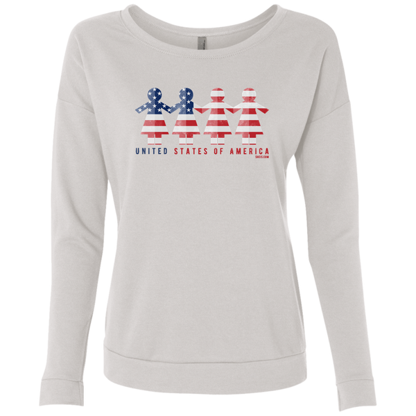 Ladies' French Terry Scoop - United We Stand