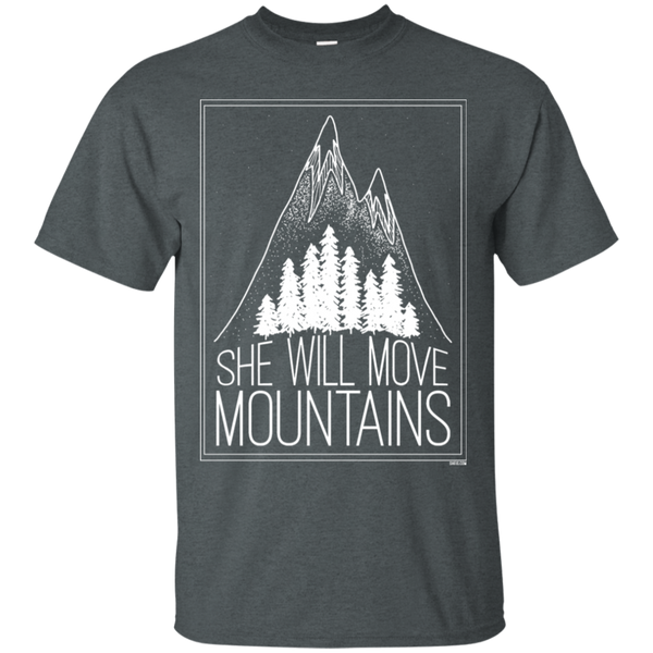 Unisex T-Shirt - She Will Move Mountains