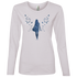 Ladies' Lightweight LS T-Shirt - She is Whimsical