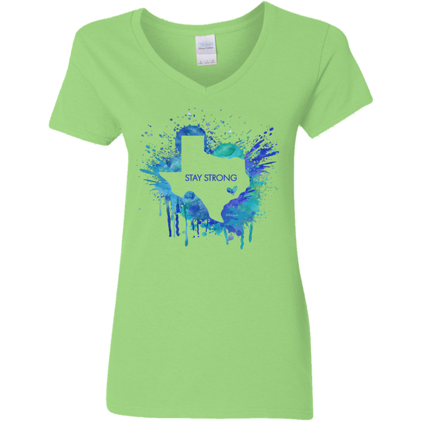 Ladies' V-Neck T-Shirt