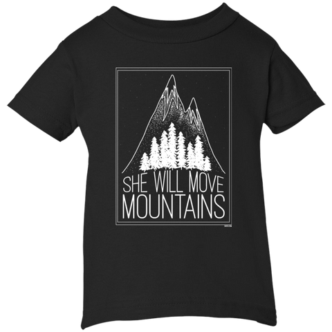 Infant Short Sleeve T-Shirt - She Will Move Mountains