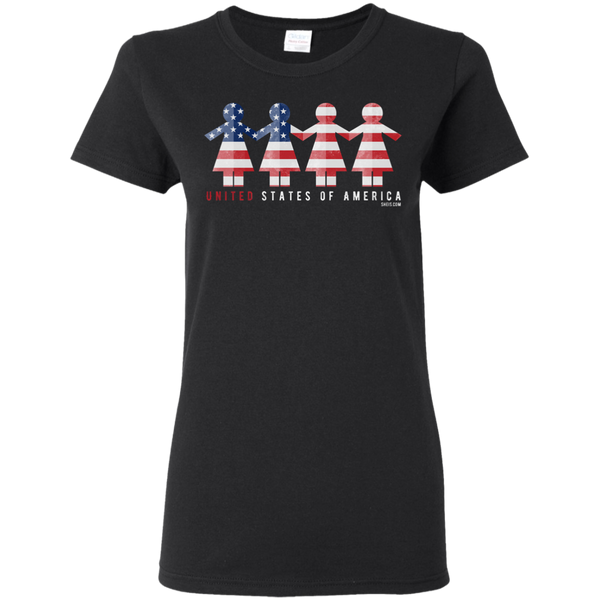 Ladies' T-Shirt - United We Stand