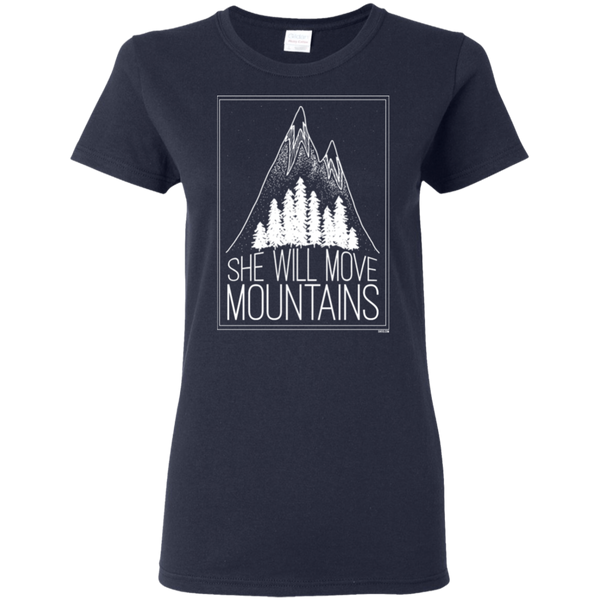 Ladies' T-Shirt - She Will Move Mountains