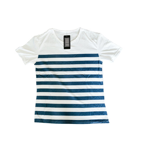 Striped White T-Shirt