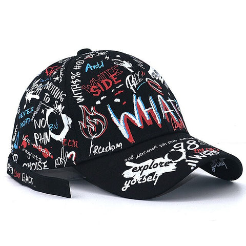 Hip Hop Graffiti Baseball Cap
