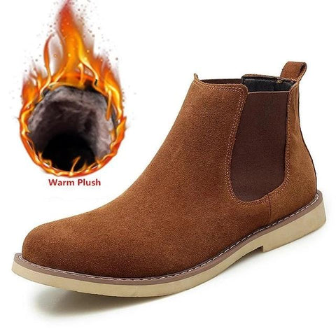 Winter Warm Chelsea Boots