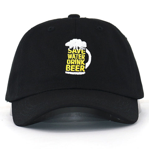 Save Water Drink Beer Baseball Cap